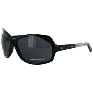 Sketcher Women Square Rectangular Sunglasses Black